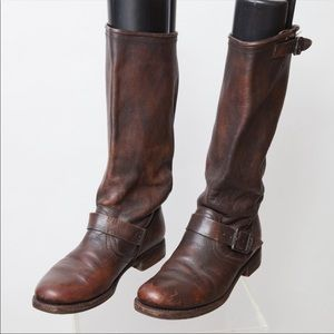 Frye Veronica slouch riding boots size 9